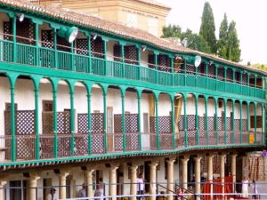 chinchon plaza balconada